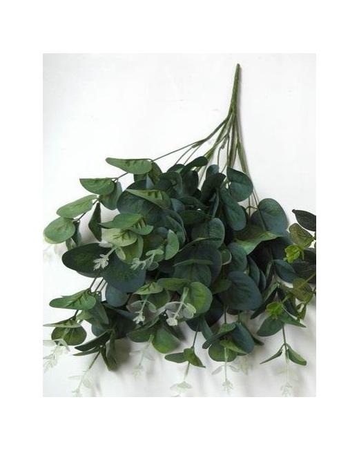 eucalyptus spray silk artificial fake bushy