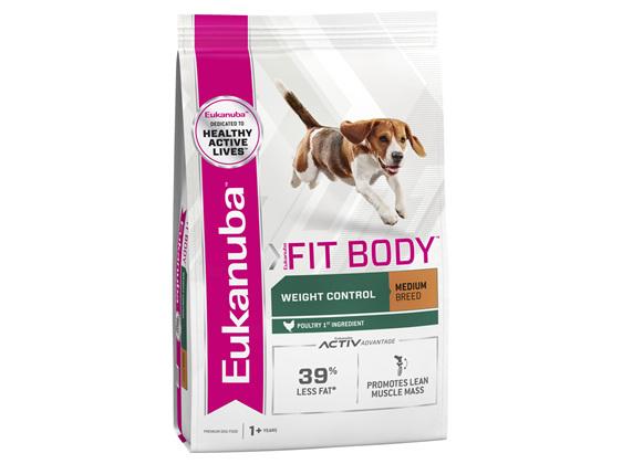 Eukanuba™ Adult Fit body Medium Breed Dry Dog Food