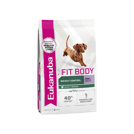 Eukanuba™ Adult Fit body Small Breed Dry Dog Food