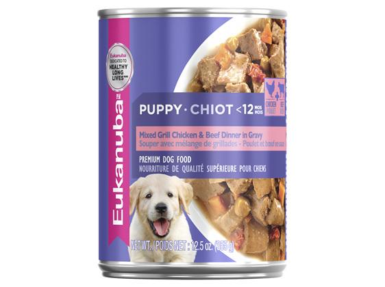 Eukanuba Puppy Mixed Grill Chicken & Beef Dinner in Gravy