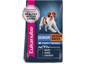 Eukanuba™ Senior Medium Breed Dry Dog Food