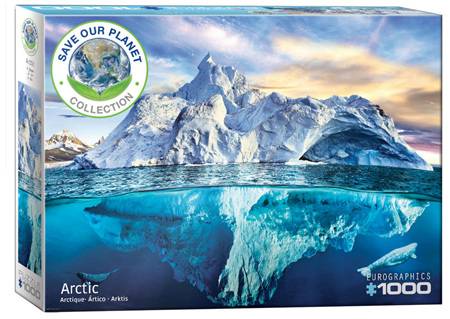 Eurographics 1000 Piece Jigsaw Puzzle: Arctic