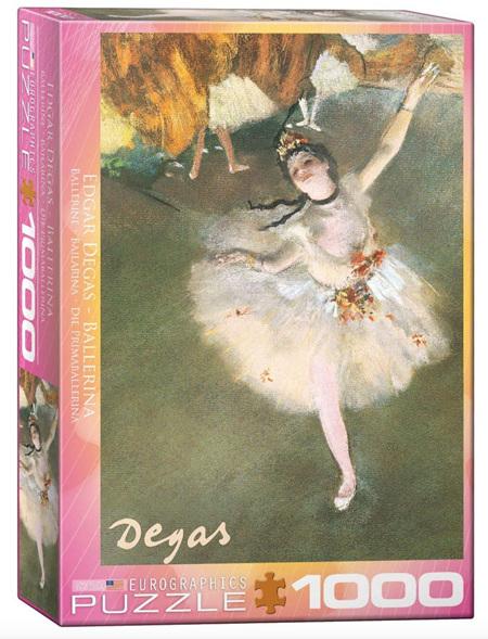 Eurographics 1000 Piece Jigsaw Puzzle:  Ballerina By Degas