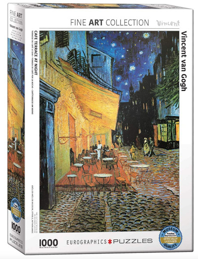 Eurographics 1000 Piece Jigsaw Puzzle: Cafe Terrace At Night