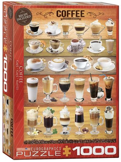 Eurographics 1000 Piece Jigsaw Puzzle: Coffee
