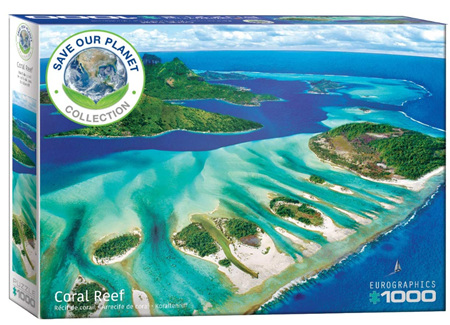 Eurographics 1000 Piece  Jigsaw Puzzle:  Coral Reef