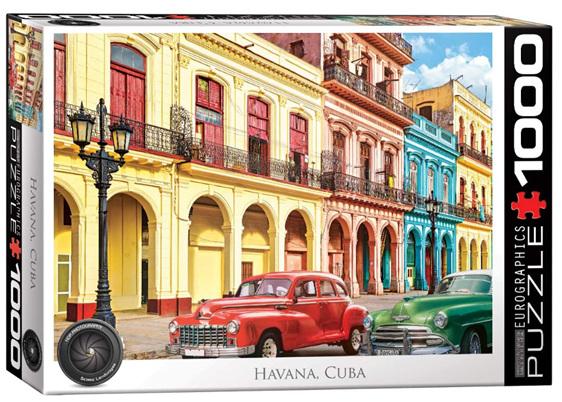 Eurographics 1000 Piece Jigsaw Puzzle Cuba  buy at www.puzzlesnz.co.nz