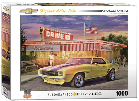 Eurographics 1000 Piece Jigsaw Puzzle: Daytona Yellow Zeta