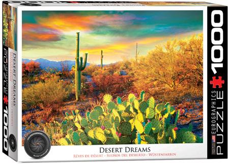 Eurographics 1000 Piece Jigsaw Puzzle: Desert Dreams