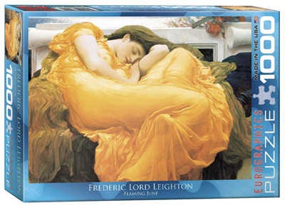 Eurographics 1000 Piece Jigsaw Puzzle: Flaming June