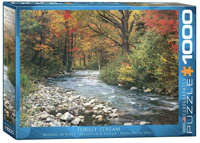 Eurographics 1000 Piece Jigsaw Puzzle: Forest Stream