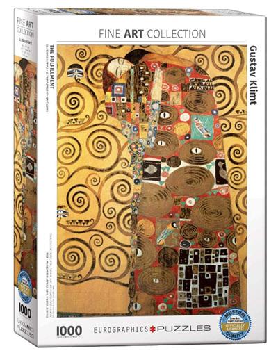 Eurographics 1000 Piece Jigsaw Puzzle: Klimpt - Fulfillment