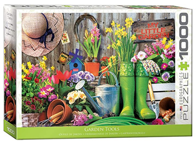 Eurographics 1000 Piece Jigsaw Puzzle: Garden Tools