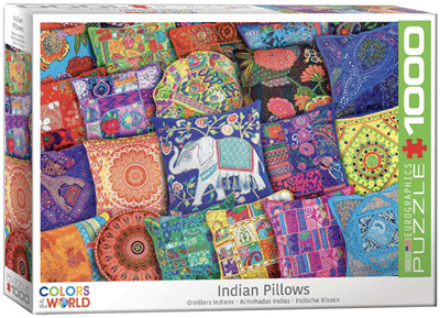 Eurographics 1000 Piece Jigsaw Puzzle: Indian Pillows