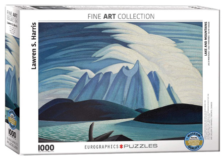 Eurographics 1000 Piece  Jigsaw Puzzle:  Lake & Mountains Lawren Harris