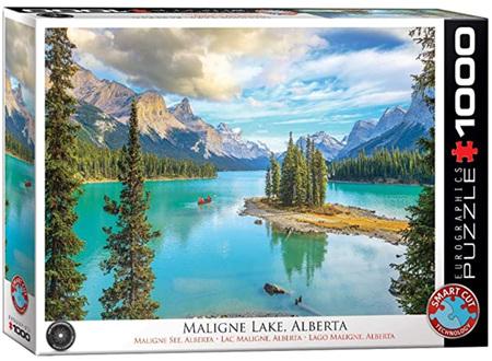 Eurographics 1000 Piece Jigsaw Puzzle: Malign Lake Canada