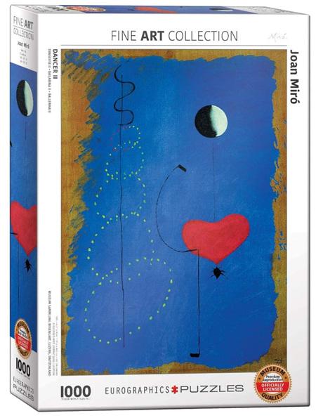 Eurographics 1000 Piece Jigsaw Puzzle: Miro - Dancer II