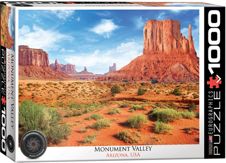 Eurographics 1000 Piece Jigsaw Puzzle: Monument Valley