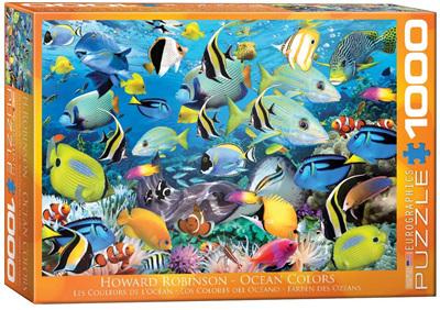 Eurographics 1000 Piece Jigsaw Puzzle: Ocean Colours