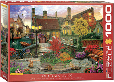 Eurographics 1000 Piece Jigsaw Puzzle: Old Town - David McLean
