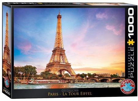 Eurographics 1000 Piece Jigsaw Puzzle: Paris - Eifell Tower