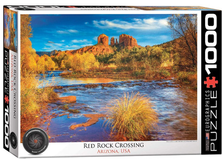 Eurographics 1000 Piece  Jigsaw Puzzle:  Red Rock Crossing