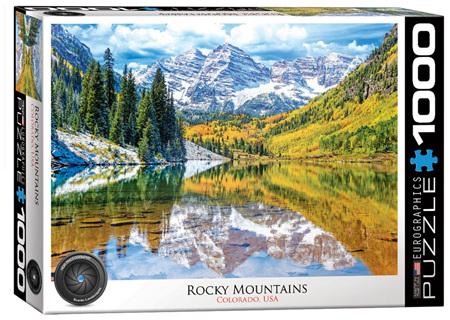 Eurographics 1000 Piece Jigsaw Puzzle: Rocky Mountains