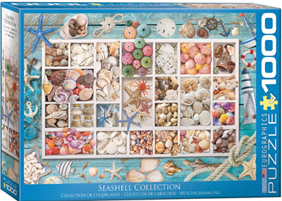 Eurographics 1000 Piece Jigsaw Puzzle: Seashell Collection