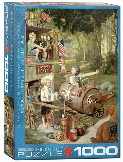 Eurographics 1000 Piece Jigsaw Puzzle: The Barnstormers