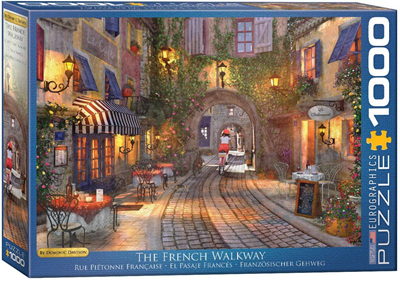 Eurographics 1000 Piece Jigsaw Puzzle: The French Walkway