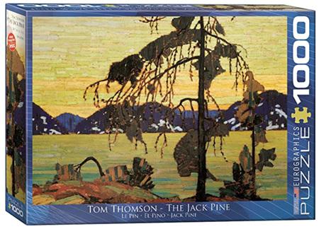 Eurographics 1000 Piece Jigsaw Puzzle: The Jack Pine