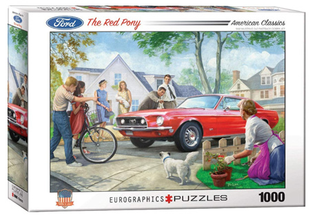 Eurographics 1000 Piece  Jigsaw Puzzle:  The Red Pony