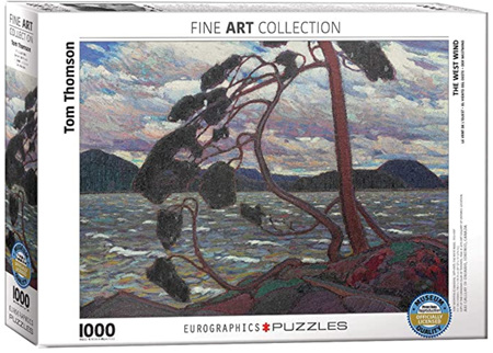 Eurographics 1000 Piece Jigsaw Puzzle: The West Wind