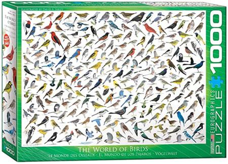 Eurographics 1000 Piece  Jigsaw Puzzle:  The World Of Birds