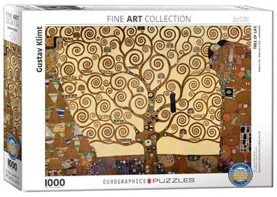 Eurographics 1000 Piece Jigsaw Puzzle: Klimpt - Tree Of Life
