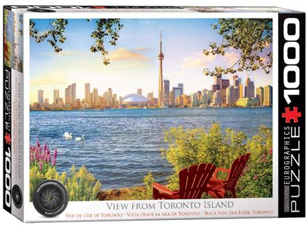 Eurographics 1000 Piece Jigsaw Puzzle: View From Toronto Island