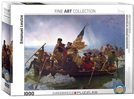 Eurographics 1000 Piece Jigsaw Puzzle: Washington Crossing The Delaware