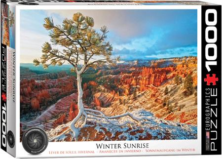 Eurographics 1000 Piece Jigsaw Puzzle: Winter Sunrise