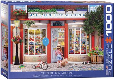 Eurographics 1000 Piece Jigsaw Puzzle: Ye Olde Toy Shoppe