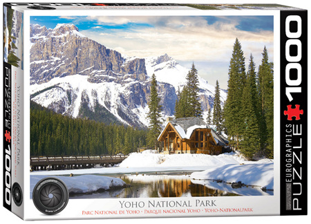 Eurographics 1000 Piece Jigsaw Puzzle: Yoho National Park