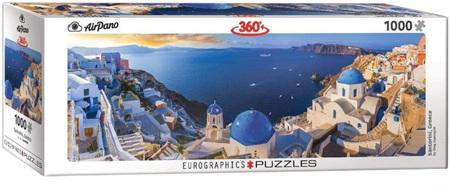 Eurographics 1000 Piece Panorama Jigsaw Puzzle: Santorini