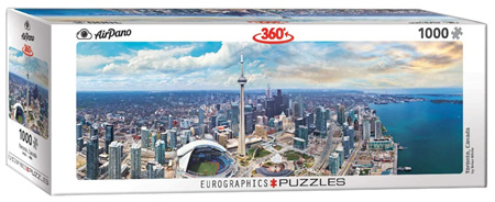 Eurographics 1000 Piece Panorama Jigsaw Puzzle: Toronto