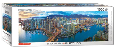 Eurographics 1000 Piece Panorama Jigsaw Puzzle: Vancouver
