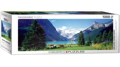 Eurographics 1000 Piece Panorama Jigsaw Puzzle: Lake Louise