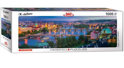 Eurographics 1000 Piece Panorama Jigsaw Puzzle: Prague