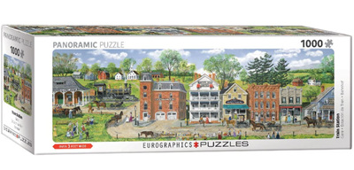 Eurographics 1000 Piece Panorama Jigsaw Puzzle: Train Station By Fair