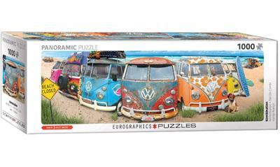 Eurographics 1000 Piece Panorama Jigsaw Puzzle: VW Bus - Kombination