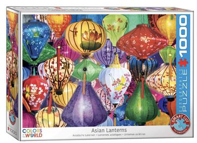 Eurographics 1000 Piece Jigsaw Puzzle: Asian Lanterns