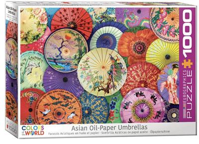 "Eurographics 1000 Piece Jigsaw Puzzle: Asian Oil Paper Umbrella""s"