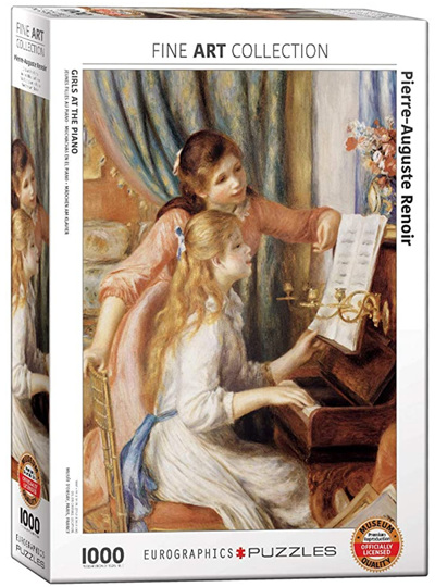 Eurographics 1000 Piece Jigsaw Puzzle: Girls At The Piano